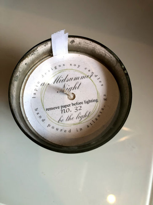 Lapin Designs - Midsummer Night No. 32 Soy Candle