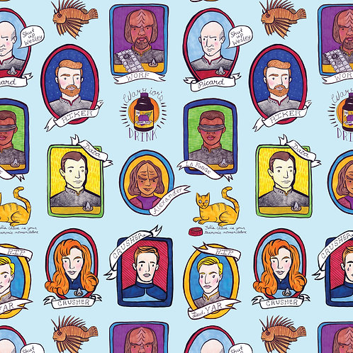 Heather Lund - The Next Generation Wrapping Paper 3 Sheets