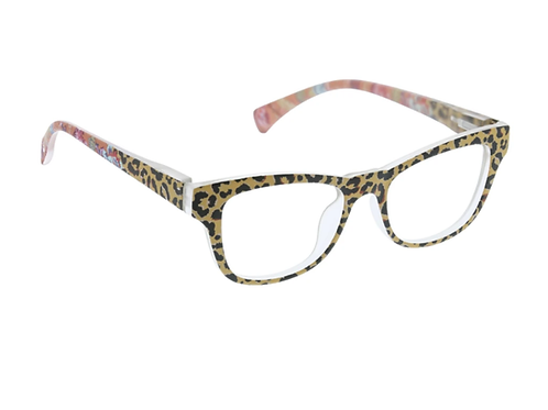 Peepers - Orchid Island - Tan/Leopard Floral +0.00