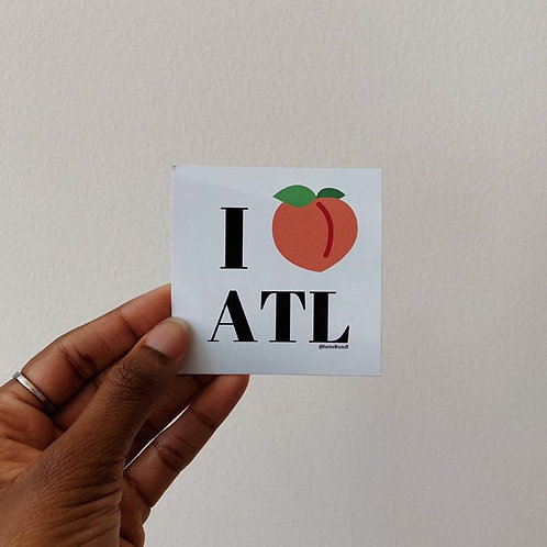 LoveNanaCo - I Love Atl Sticker