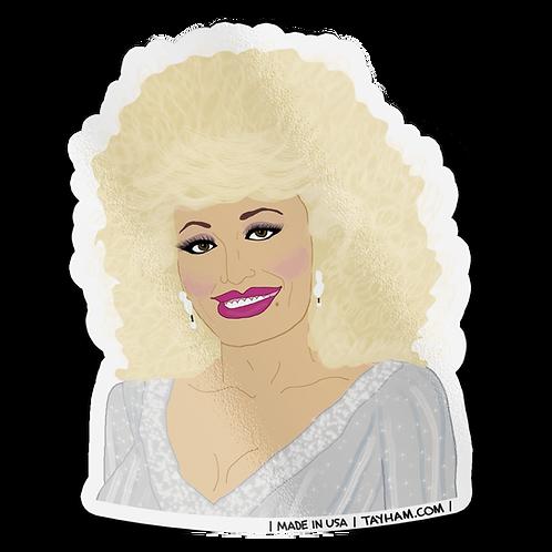 Tay Ham - Dolly Parton Sticker