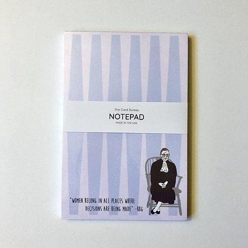 Card Bureau - RBG Notepad