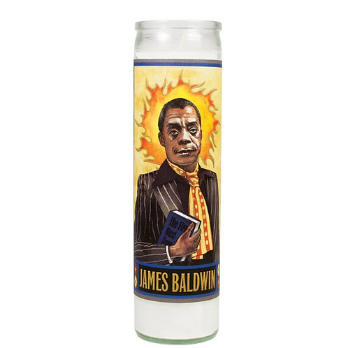 Unemployed Philosophers Guild - James Baldwin Secular Saint Candle