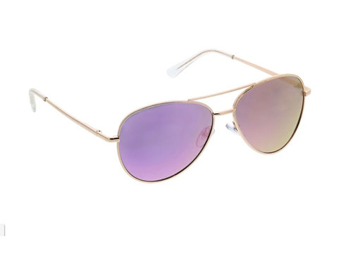 Peepers - Sunglasses:  Heat Wave Sun in Pink/Gold +0.00