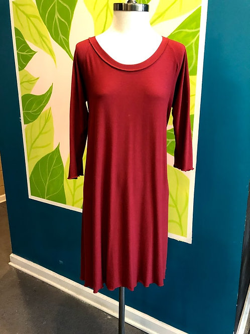 Angelrox - Rust Shift Dress