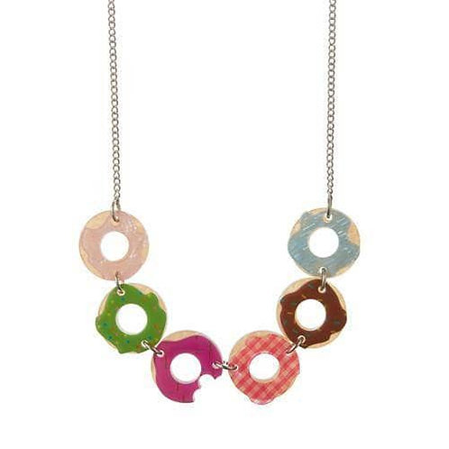 Erstwilder - Sugar Bagel Bunch Necklace