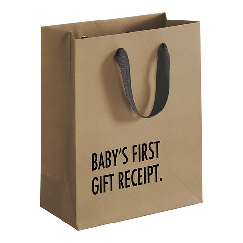 Pretty Alright Goods - Baby's First Gift Receipt Bag
