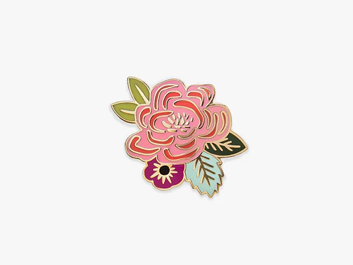 Rifle Paper - Juliet Rose Flower Pin