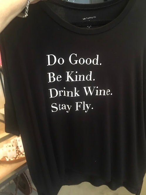 LA Trading Co - Do Good Be Kind One Size Shirt