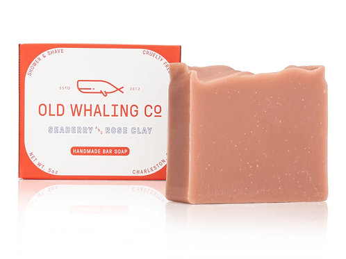 Old Whaling Co. - Seaberry + Rose Clay Soap