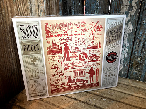 True South - Nashville Landmarks 500pc Puzzle
