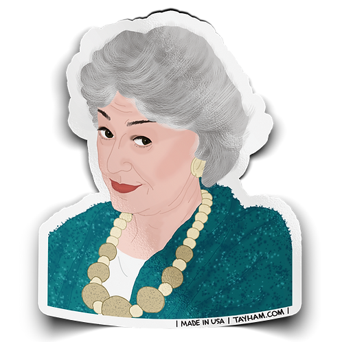 Tay Ham - Bea Arthur / Dorothy Golden Girls Sticker