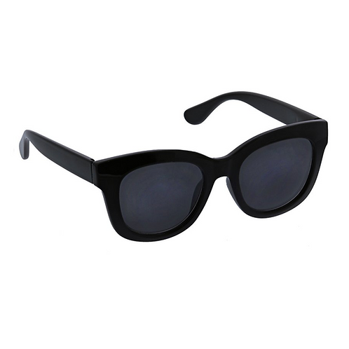 Peepers - Sunglasses: Center Stage Sun Black +0.00