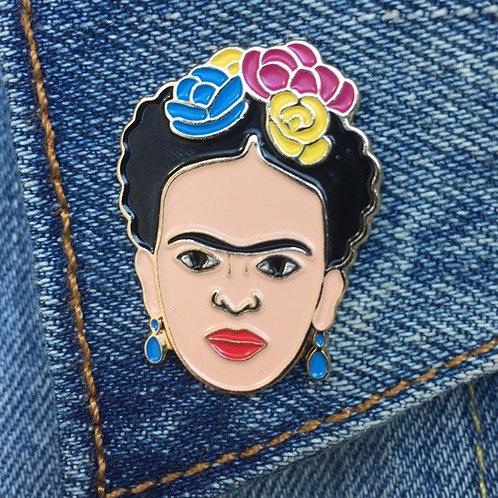 The Found - Frida Kahlo Enamel Pin