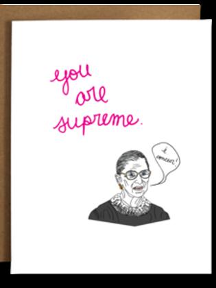The Card Bureau - You Are Supreme