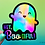 "Thumbnail: Tiny Bee - Cute Holographic Ghost Sticker ""You're Boo-tiful"""