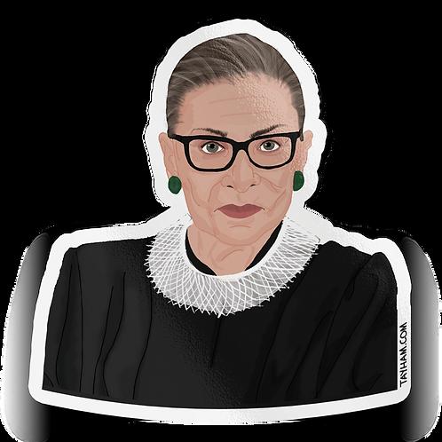 Tay Ham - Ruth Bader Ginsburg Sticker
