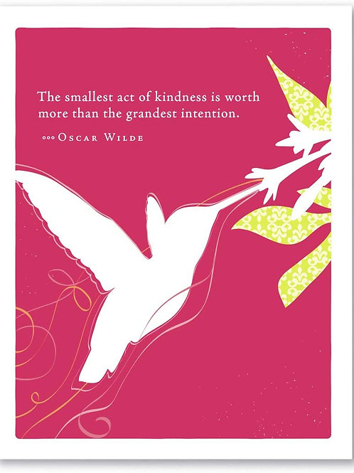 """Positively Green - Oscar Arias """"The Effect Of One Good Hearted Person..."""""""