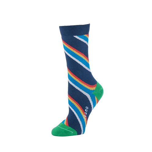 Zkano Socks - Rainbow Hazel Women's Crew Socks