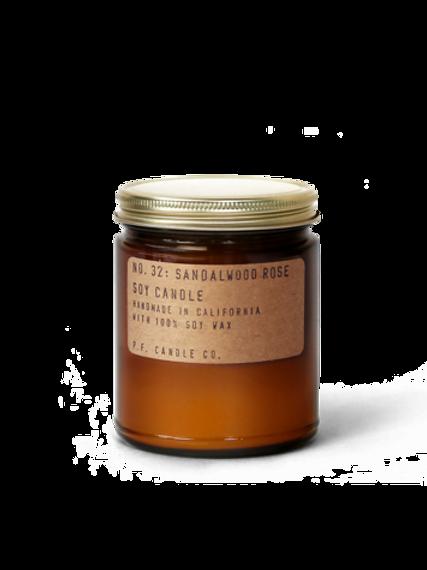 P.F Candle Company - Sandalwood Rose Soy Candle