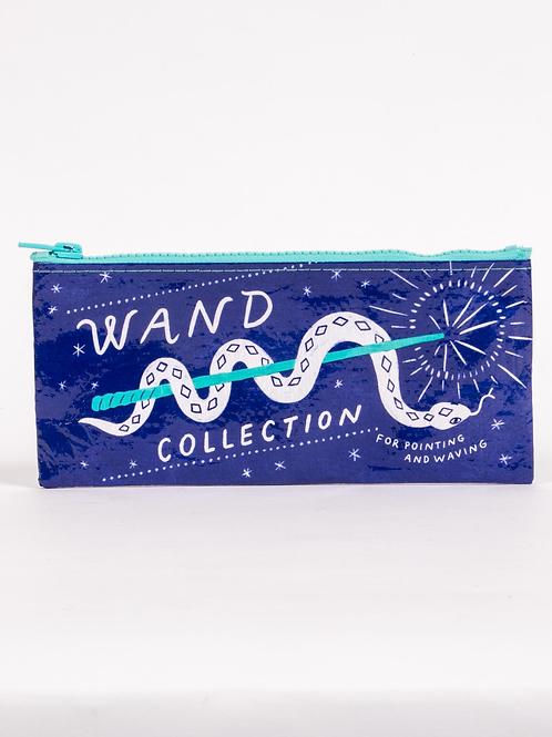 Blue Q - Wand Collection Zipper Pencil Pouch