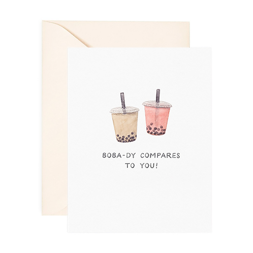 Amy Zhang - Boba-dy Compares To You