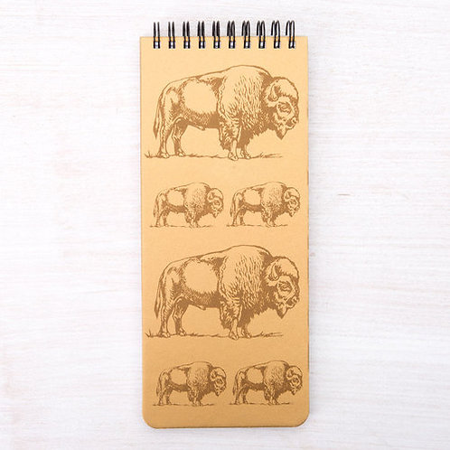 Counter Couture - Bison Notebook