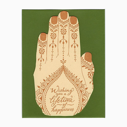 Blackbird Letterpress - Henna Happiness