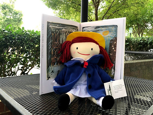 Madeline Plush Doll and Book Set