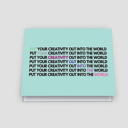 Shannon Cohen - Creativity Card