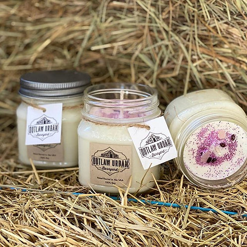 Outlaw Urban Barnyard - Love in the Barnyard 8oz Candle