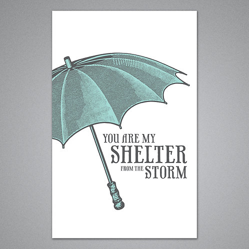 Breathless Paper Co. - Shelter From The Storm