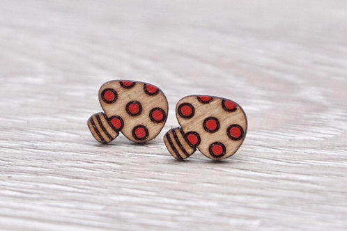 Lumen House - Mushroom Stud Earrings