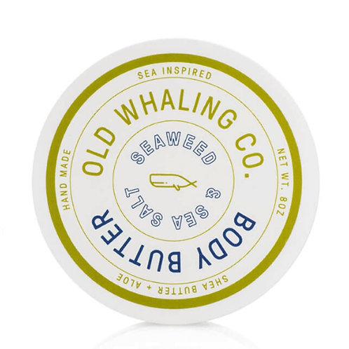 Old Whaling Co. - Seaweed & Sea Salt Body Butter 8oz