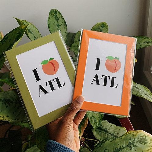 LoveNanaCo - I Love ATL Print