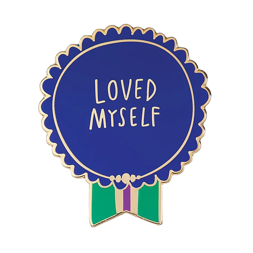Emily McDowell - Loved Myself Pin