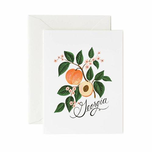 Rifle Paper Co. - Georgia Peach Card