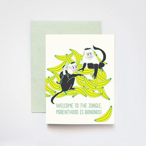 ILootPaperie - Parenting Is Bananas Card