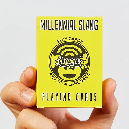 Lingo - Millennial Slang Playing Cards