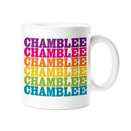 Rock Scissor Paper - Chamblee Rainbow Mug