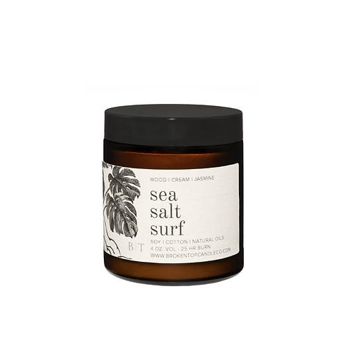 Broken Top Candle Co. - Sea Salt Surf 4oz Soy Candle