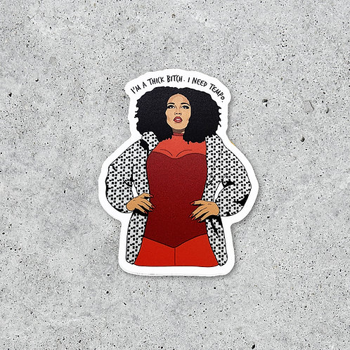 Citizen Ruth - Thick Bitch Sticker