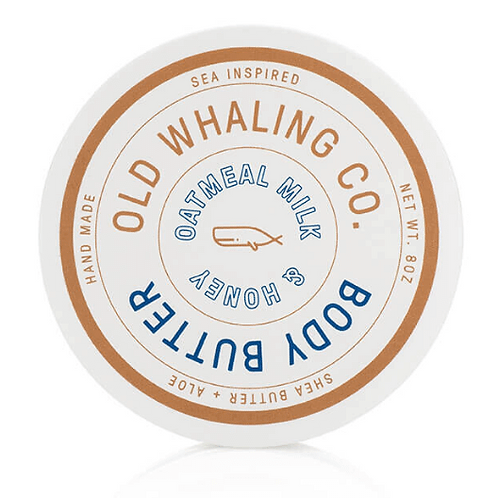 Old Whaling Co - Oatmeal Milk & Honey Body Butter 8oz