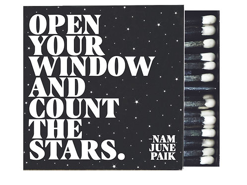 Quotable - Open Your Window Matches