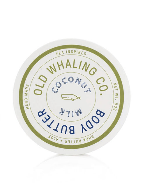 Old Whaling Co. - Coconut Milk Body Butter 8oz