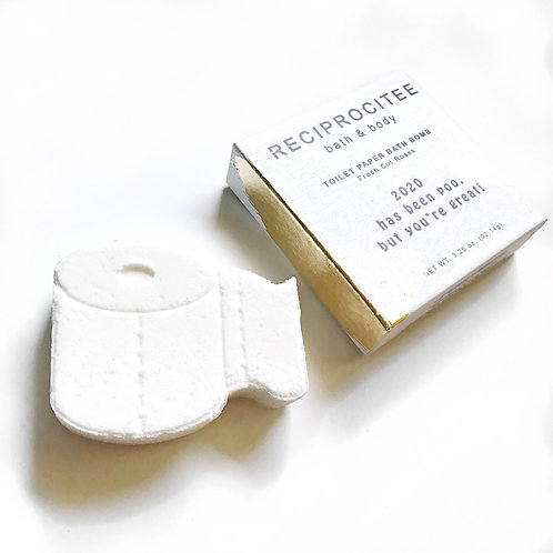 Reciprocitee - Toilet Paper Bath Bomb