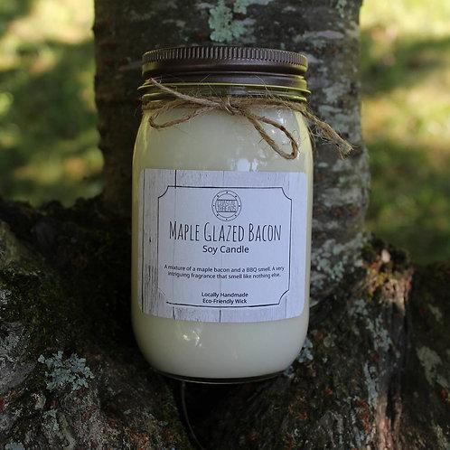 Coastal Threads - Maple Glazed Bacon 8oz Soy Candle