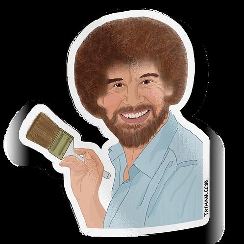 Tay Ham - Bob Ross Sticker