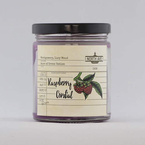 North Ave - Raspberry Cordial Candle