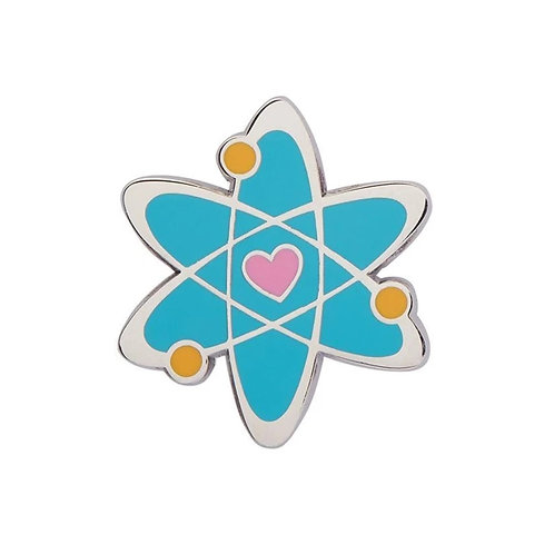 Erstwilder - Adventurous Atom Enamel Pin